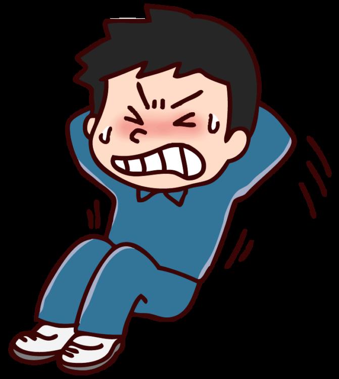 腹筋と腰痛