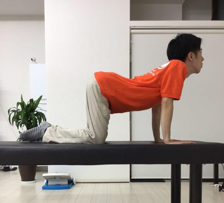 背骨柔軟体操
