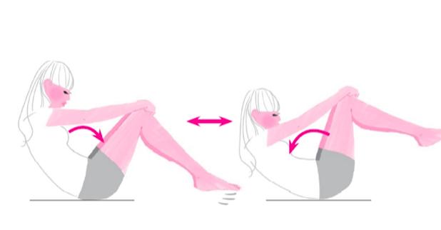 反り腰改善トレーニング